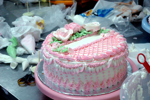 Kursus Cake Decorating With Buttercream Kelas 1 Mama