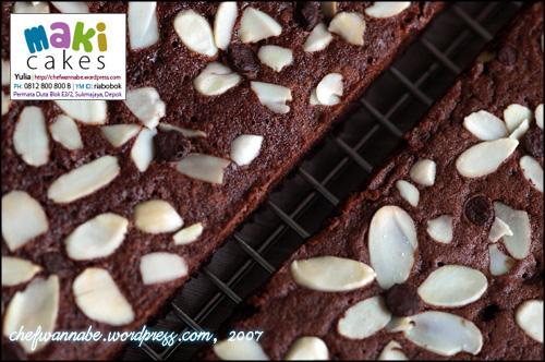 Brownies Maki Cakes
