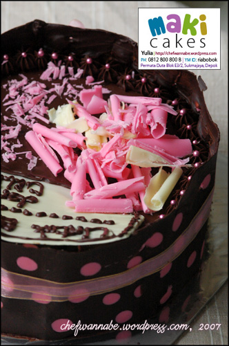 Chocolate Cake for Celina - Maki Cakes