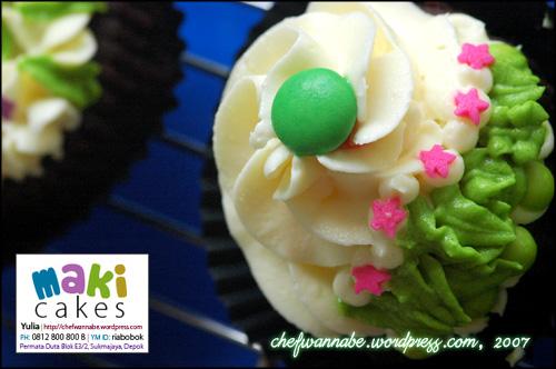 "Cupcake ""Kebunku"" - Maki Cakes"