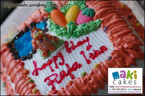 Birthday Cake Rafa