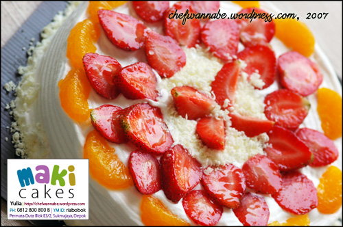 Fruity Cheesecake - Maki Cakes