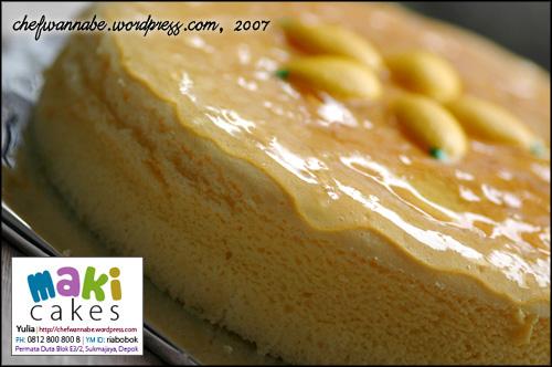 Japanese Style Cheesecake - Maki Cakes