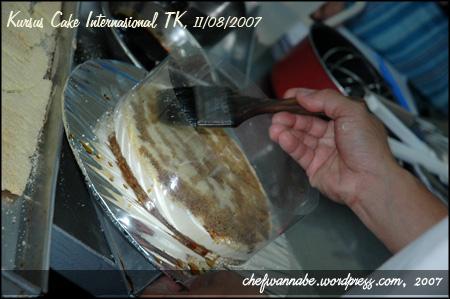 Kursus Cake Internasional 11/8/2007