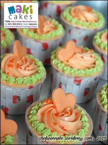 Cupcake for IndosatM2 7th Anniversary