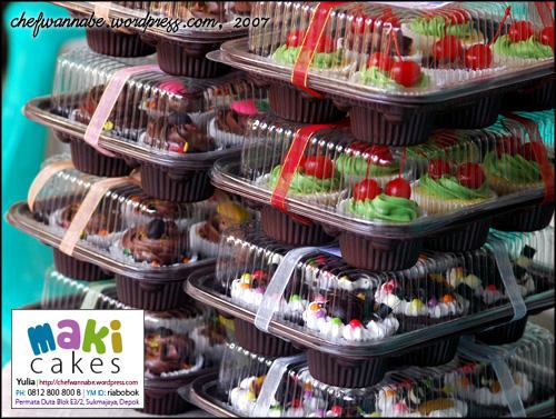 50 Cupcakes - Maki Cakes