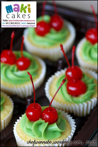 Buttercake Cupcake - Maki Cakes