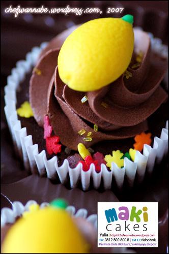 Nescafe Moist Cupcake - Maki Cakes