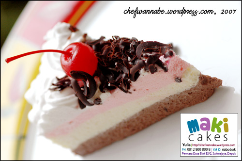 Triple Chocolate Cheesecake - MakiCakes