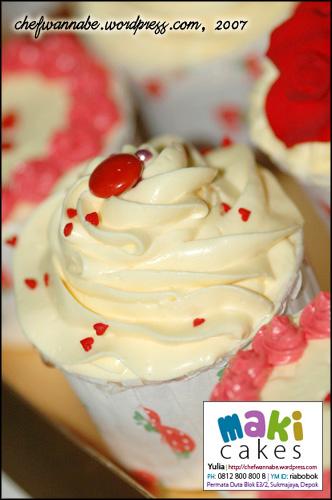 Cupcake Mawar