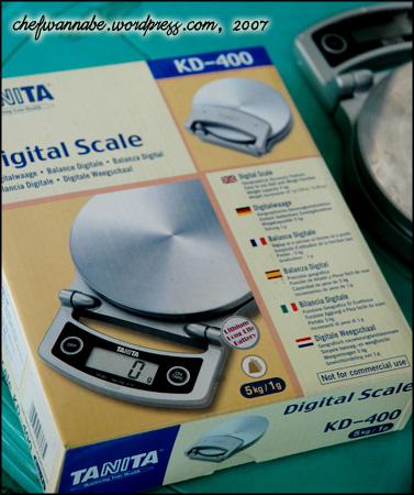 Timbangan Digital Tanita 5kg