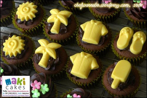 Summer Cupcakes - Maki Cakes
