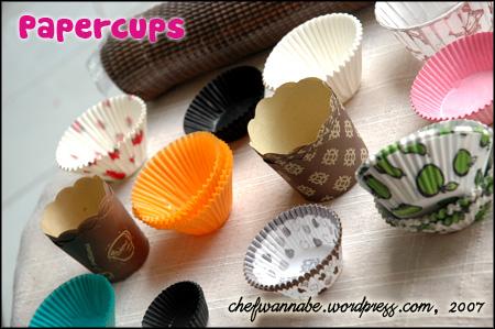 Papercup untuk Cupcakes