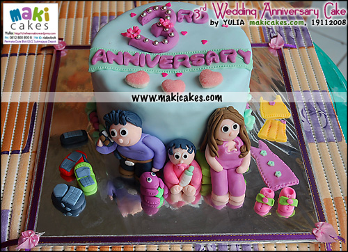 3rd-wedding-anniversary-cake-for-olivia_-maki-cakes