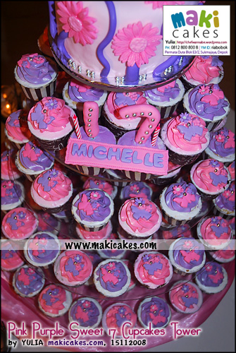 pink-purple-sweet-17-cupcakes-tower-maki-cakes