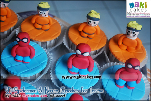 3d-spiderman-naruto-cupcakes-for-jereva