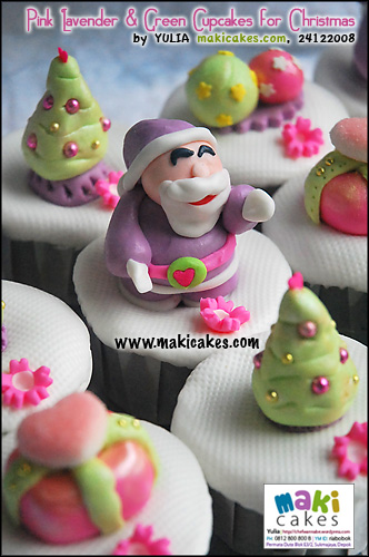 pink-lavender-green-cupcakes-for-christmas-maki-cakes