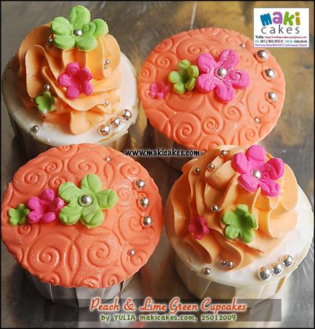 peach-lime-green-cupcakes-maki-cakes