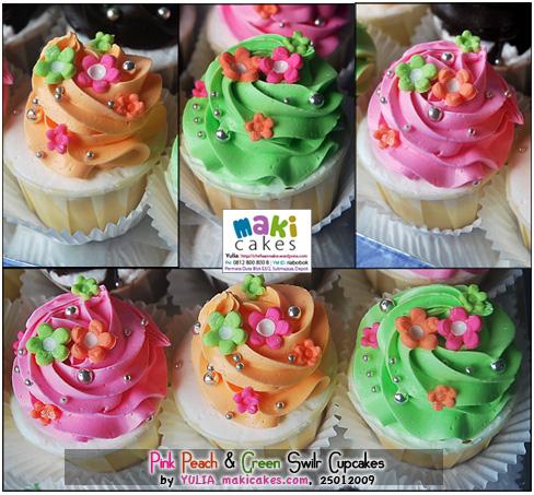 pink-peach-green-swirl-cupcakes-maki-cakes