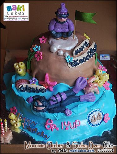 mountain-climber-scuba-diver-cake-maki-cakes