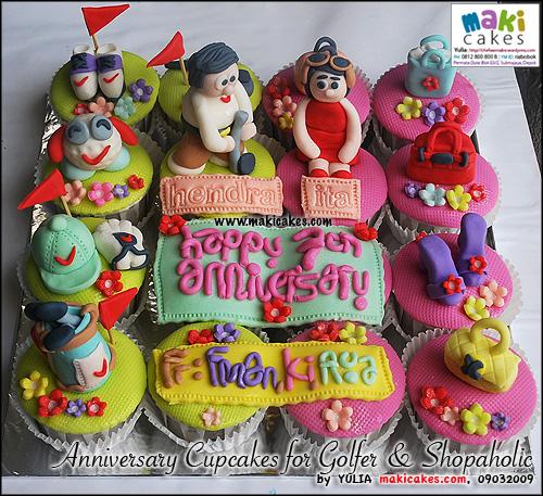 anniversary-cupcakes-for-golfer-shopaholic-maki-cakes
