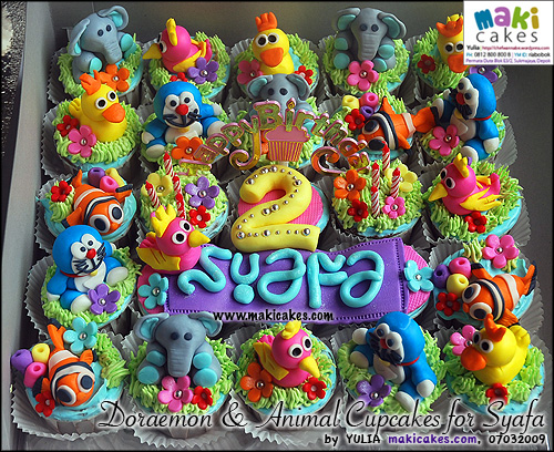 doraemon-animal-cupcakes-for-syafa-maki-cakes