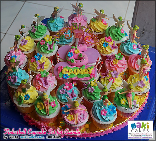 Tinkerbell Cupakes For Caindy Mama Kintan Amp Kinar