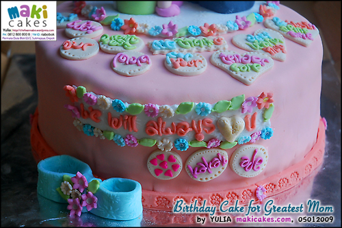 Birthday Cake for Greatest Mom_ - Maki Cakes