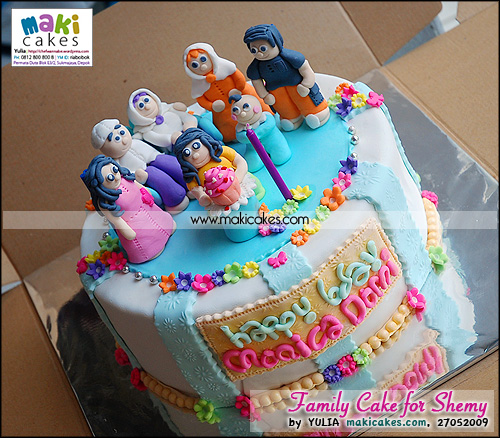 Family Cake for Shemy - Maki Cakes