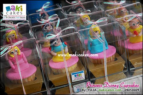 Princess Disney Cupcakes_ - Maki Cakes