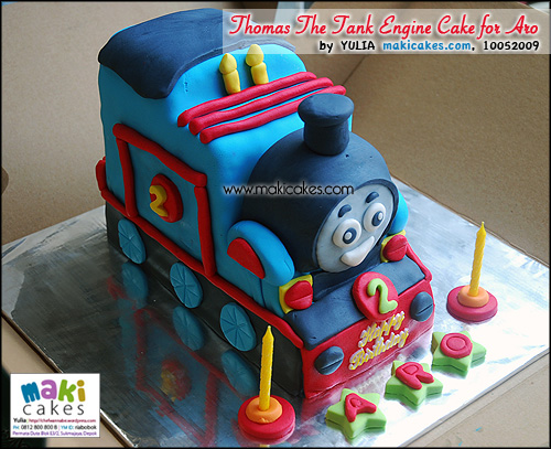 Thomas The Tank Engine Cake for Aro - Maki Cakes
