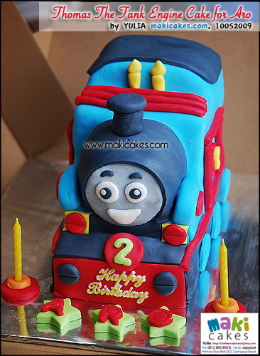 Thomas The Tank Engine Cake for Aro_ - Maki Cakes