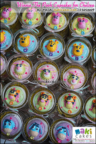 Winnie The Pooh Cupcakes for Chelsea - Maki Cakes