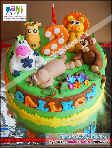 Animal Cake for Galleon - Maki Cakes
