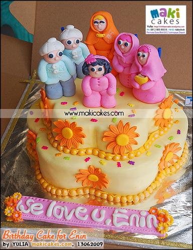 Birthday Cake for Enin_ - Maki Cakes
