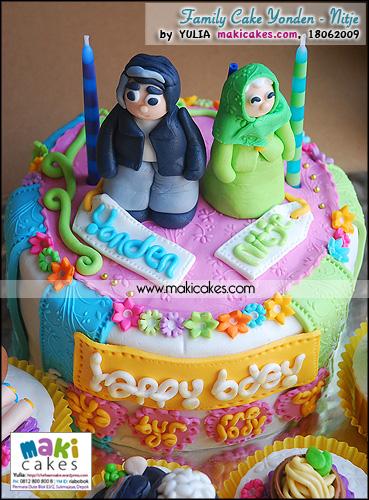 Family Cake Yonden - Nitje - Maki Cakes
