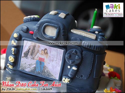 Nikon D80 Cake for Asizt_ - Maki Cakes