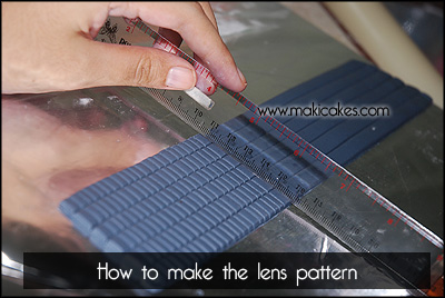 Nikon D80 Camera Cake - How To 5 - Maki Cakes