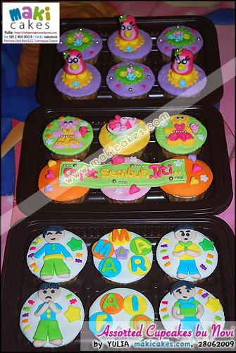 Assorted Cupcakes bu Novi - Maki Cakes