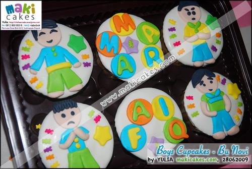 Boys Cupcakes - bu Novi - Maki Cakes