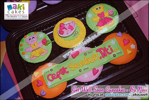 Get Well Soon Cupcakes - bu Novi - Maki Cakes