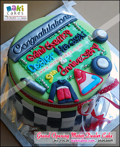 Grand Opening Dealer Kawasaki of Junior Motorsport - Maki Cakes