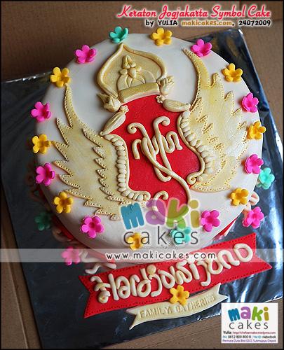 Keraton Jogjakarta Symbol Cake - Maki Cakes