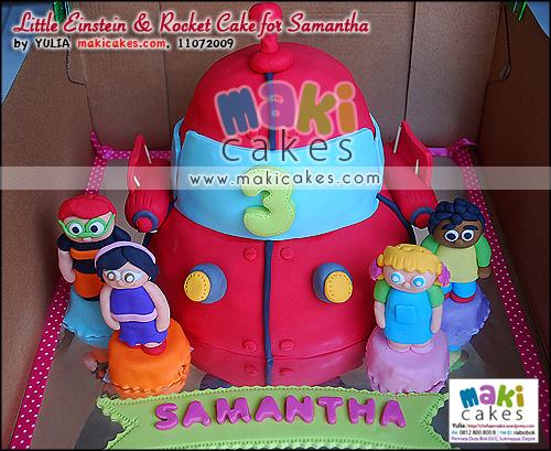 Little Einstein & Rocket Cake for Samantha - Maki Cakes