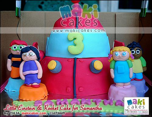 Little Einstein & Rocket Cake for Samantha_ - Maki Cakes