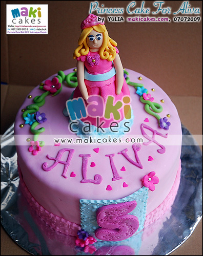 Princess Cake for Aliva - Maki Cakes