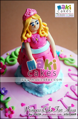 Princess Cake for Aliva_ - Maki Cakes