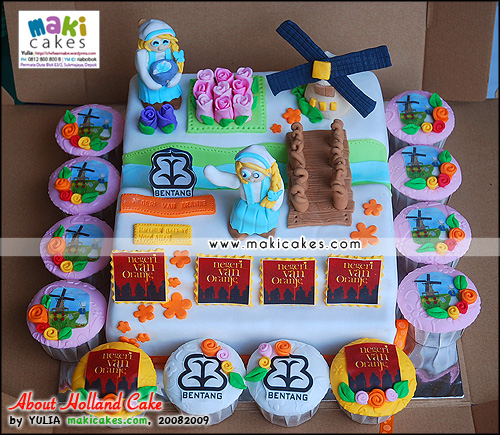 About Holland Cake - Negeri Van Oranje - Maki Cakes