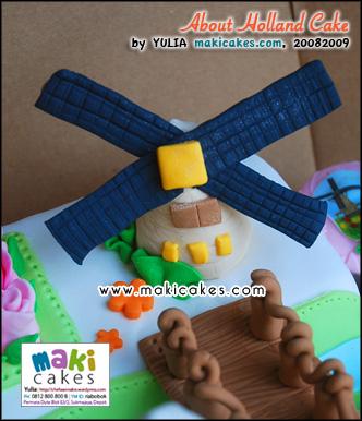 About Holland Cake___ - Negeri Van Oranje - Maki Cakes