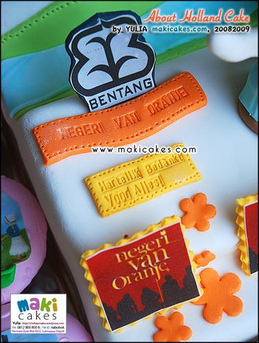 About Holland Cake____ - Negeri Van Oranje - Maki Cakes